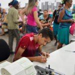 Eleitores lotam forum eleitoral de sao luis para regularizacao eleitoral 5