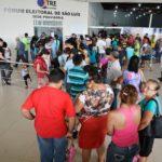 Eleitores lotam forum eleitoral de sao luis para regularizacao eleitoral 10