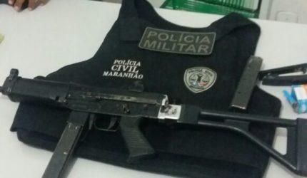 Polícia recupera submetralhadora roubada de delegacia