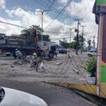 motorista colide em em poste no vinhais