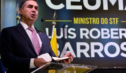 """""""Corrupção é fruto de um contrato oligárquico"""", diz Ministro Barroso"""