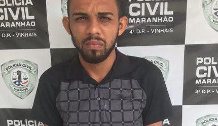 Policia Civil prende homem acusado de assaltar residências