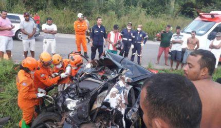 Cinco pessoas morrem em grave acidente no Campo de Peris