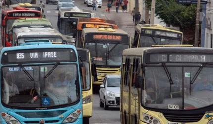 Redução da frota de ônibus na capital chega a 30%