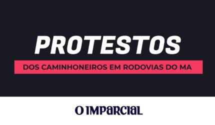 Infográfico: Protestos dos caminhoneiros em rodovias do MA