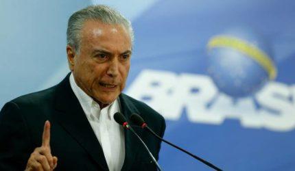 Lava-jato prende ex-presidente Michel Temer