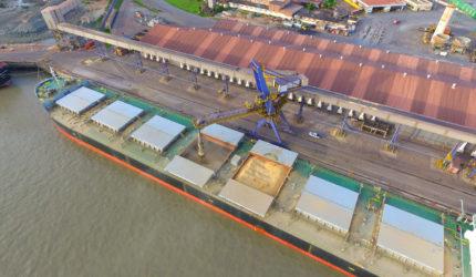 Porto do Itaqui bate novo recorde na movimentação de grãos