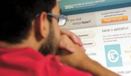 Lista de vagas do Sisu está disponível; inscrições começam amanhã