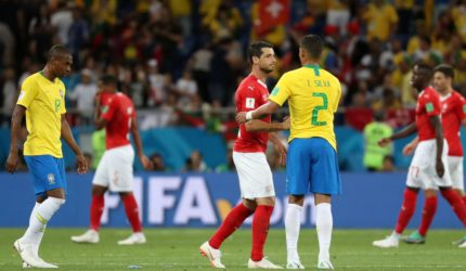 Brasil empata em sua estreia na Copa do Mundo