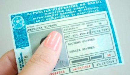 Inadimplentes podem ter a carteira de motorista suspensa