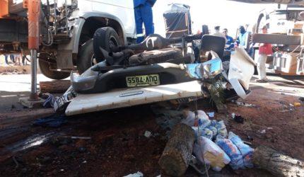 Após um dia de trabalho, equipes finalizam atendimento a acidente em Balsas