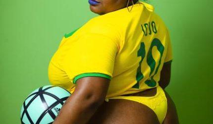 Jojo Toddynho faz homenagem à Seleção Brasileira