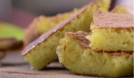 Aprenda a fazer um bolo de milho sem farinha