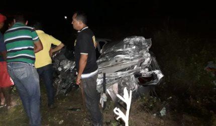 Motorista morre em colisão na BR-135
