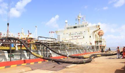 Novo píer petroleiro entra em operação no Porto do Itaqui