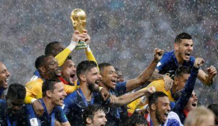 França campeã do mundo com direito a muitos gols