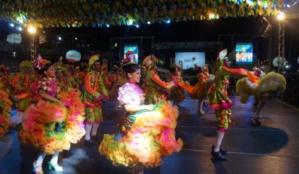 Festival de quadrilhas agitou o Arraial da Maria Aragão no sábado