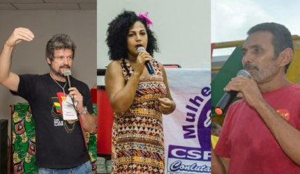 PSTU apresenta suas pré-candidaturas na chapa majoritária