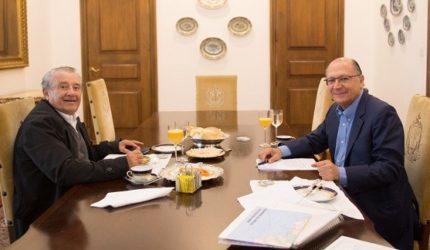 Geraldo Alckmin declara apoio a candidatura de Zé Reinaldo ao Senado