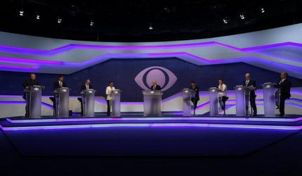 Primeiro debate televisivo deixa a desejar