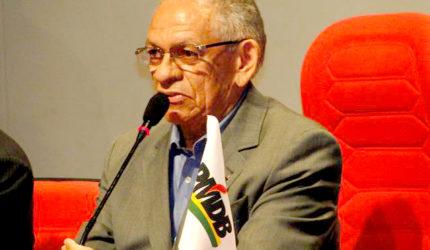 Vice-presidente do MDB não acredita em renovação política