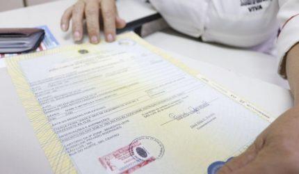 Mutirão de registro civil será realizado este fim de semana em Paço do Lumiar