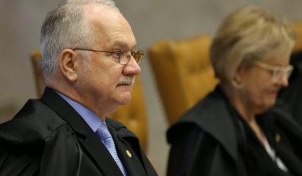 Fachin quer celeridade para discutir situação eleitoral de Lula
