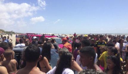 Testemunha relata sobre o afogamento na praia do Araçagy