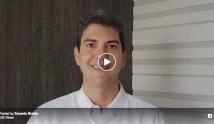 Eduardo Braide confirma candidatura à deputado federal