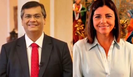Candidatos de Flávio Dino e Roseana ao Senado estão empatados