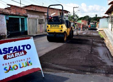 Prefeitura leva o Programa Asfalto na Rua para àrea da Estiva