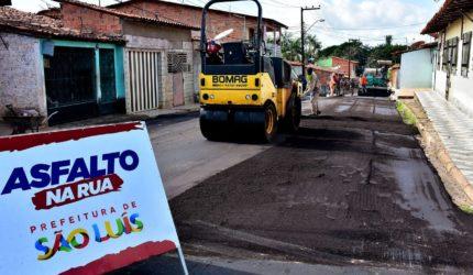 Avenidas são requalificadas com o programa Asfalto na Rua