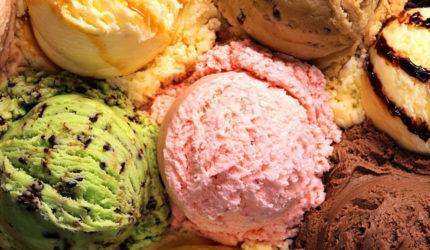 Lugares para comemorar o dia do sorvete