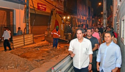 Prefeitura e Iphan vistoriam obras no Centro de São Luís
