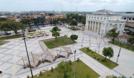 Cidade histórica: as obras na Rua Grande e no Complexo Deodoro