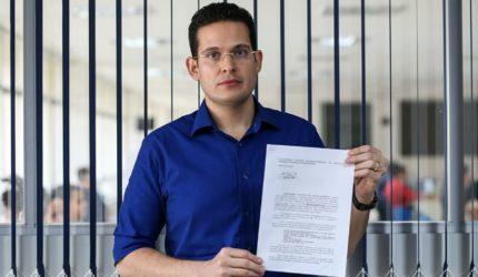 Mensagem de Lobão Filho para Alexandre Almeida vira caso de polícia