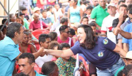 Depois de acidente, Andreia Rezende retoma agenda eleitoral