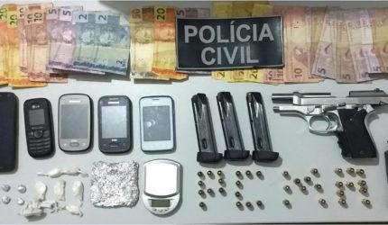 Professor é preso acusado de tráfico de drogas em São Domingos
