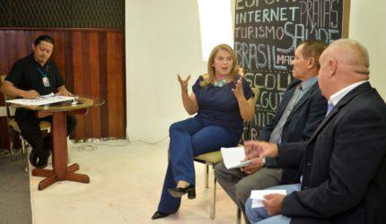 """""""Se reduzir ICMS gerar emprego, eu sou a favor"""", fala Maura Jorge em Live com Candidatos"""