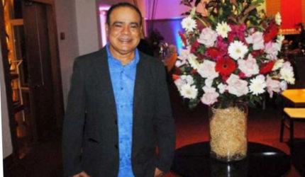 """Nedilson Machado comemora com a """"Saudosa Galera"""""""