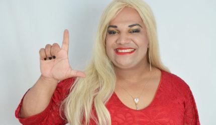 Pâmela Maranhão, a única candidata travesti do estado