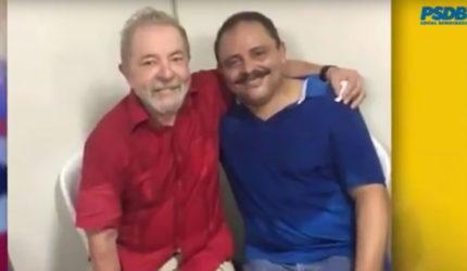 Waldir Maranhão coloca Lula no programa do PSDB