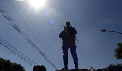 Soldados do exército chegam ao Maranhão para as eleições