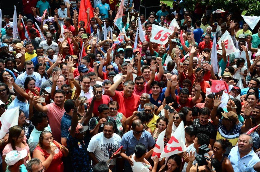Resultado de imagem para FLAVIO DINO REELEITO GOVERNADOR