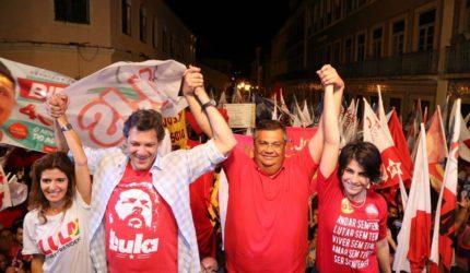 Flávio Dino comenta'fogo amigo nordestino' a Fernando Haddad