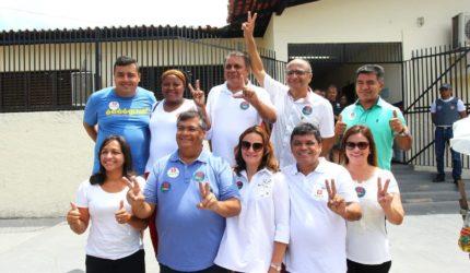 Flávio Dino vota e reforça apoio a Haddad no segundo turno