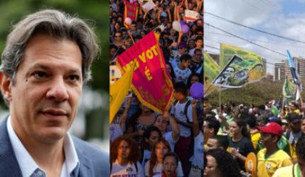 Fim de semana politizado em São Luís