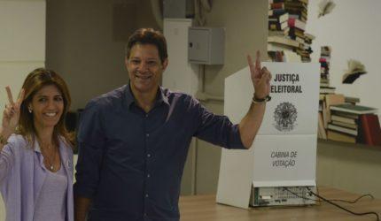 No Maranhão, Fernando Haddad recebeu 73,26% dos votos