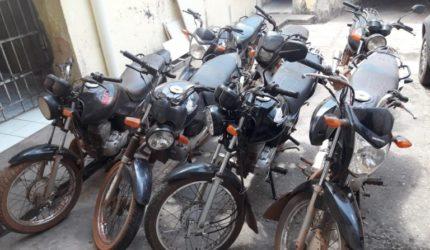 Motocicletas roubadas são recuperadas no interior do Maranhão