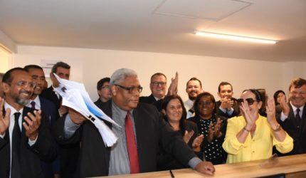 Mozart Baldez registra chapa para eleição da OAB-MA